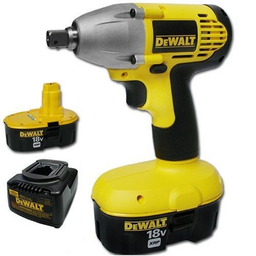 DEWALT DW057K-2 18V Impact Wrench Kit.