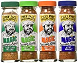 Buy Chef Paul Prudhomme's Magic Seasoning Blends ~ Magic 4-Pack, Qty. 4 2-Ounce Bottles Online
