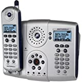 Motorola MD681 5.8 GHz Digital Expandable Cordless Speakerphone with Answering System and Caller ID (Silver)