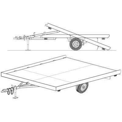 Tandem Axle Diagram as well Dexter 5 On 4 5in Ez Lube Hub Kit For 3 NLb likewise Dexter Axle Ke Wiring Diagram together with Flatbed Trailer Plans Free Plans Randkey likewise Wiring Diagram For 7 Pole Rv Trailer Connectors For A 1995 Ford. on tandem utility trailer