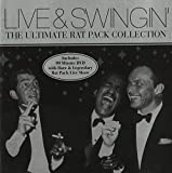 Copertina di album per Live and Swingin': The Ultimate Rat Pack Collection