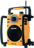 Sangean U-1 AM/FM Rugged Utility Radio - YELLOW