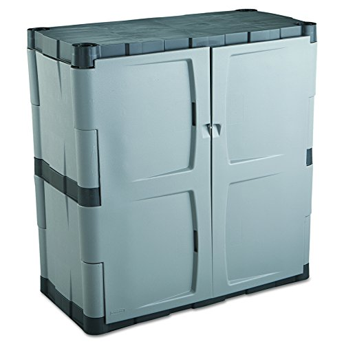 Rubbermaid 7085-00 Heavy-Duty Resin Base Cabinet.