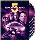 Babylon 5 - The Complete Fourth Season - movie DVD cover picture
