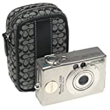Canon PowerShot S230 3.2 MP Digital ELPH Camera with 2x Optical Zoom and Coach Camera Case