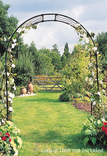 3' Round English Rose Arch