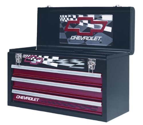 Waterloo Industries PCHCHEVY Chevy 3-Drawer Portable Tool Chest.