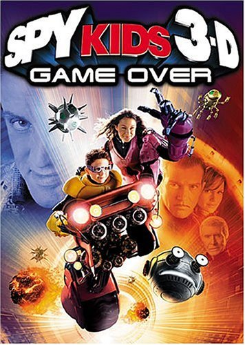 Spy Kids 3-D: Game Over DVD