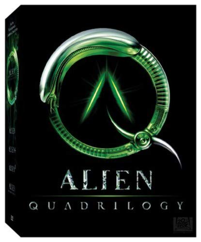 Alien Quadrilogy DVD (shouldn't that be Quartet?) - Buy it!
