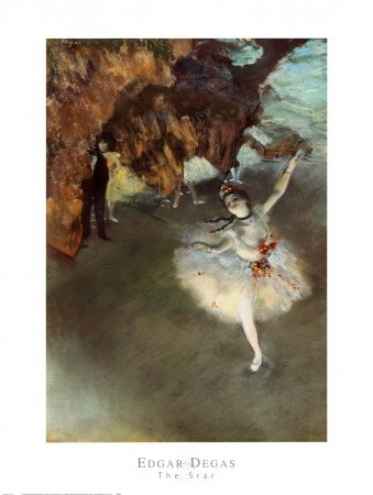 The Star, Fine-Art Print by Edgar 