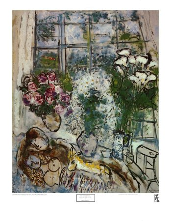 Le Bouquet Ardent, Fine-Art Print by 