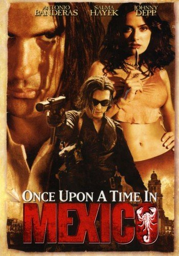 Buy once upon a time in mexico DVD