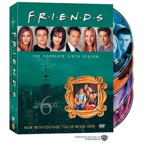Друзья - Сезон 6 (friends - Season 6) [RUS+ENG DVDRipS] (ВСЕ серии)