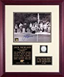 Jack Nicklaus - Up & Down - Framed Autographed Photograph with Golf Ball