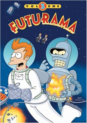 Futurama, Vol. 3 DVD