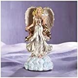 Angel And Dove Figurine