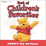 Cubierta del álbum de Best of Children's Favorites: Pooh's Top 40