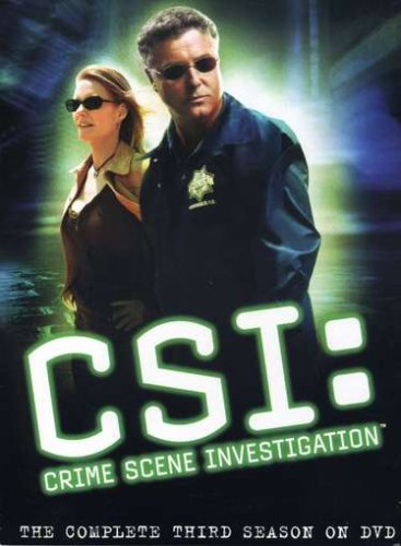 C.S.I. Crime Scene Investigation - The Complete Third Season DVD