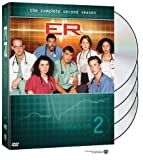 ER - The Complete Second Season - movie DVD cover picture