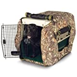 Insulated Kennel Jacket - Wetlands Camouflage (L)