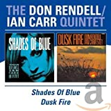 Album cover for Shades of Blue/Dusk Fire