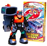 Rescue Heroes Optic Team Figure with Bonus Video: Rock