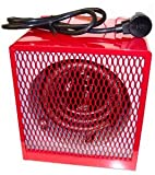 Dayton Portable L5600 208/240-Volt Electric Shop and Garage Heater