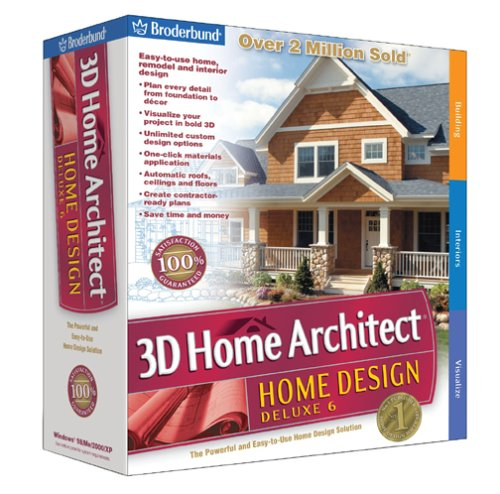 Broderbund 3D Home Architect Home Design Deluxe 6 - Fiyat AralбПб