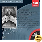 Choir of King's College Cambridge - Britten Choral Works