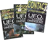 UFO's and Cosmic Dimensions 3pk DVD Set.