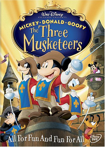 The Three Musketeers (2004) DVD