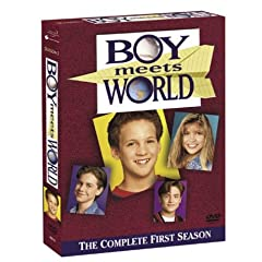 Boy Meets World Dvds