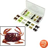 D.O.A. Lures - Softshell Crab 24 pc Value Kit by D.O.A. Lures