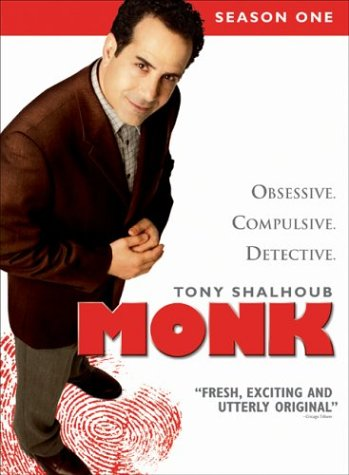 Monk - Season One DVD