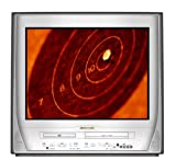 Sylvania 6727FDE 27 Pure Flat TV/DVD/VCR Triple Combo by SYLVANIA