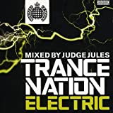Cubierta del álbum de Ministry of Sound: Trance Nation Electric