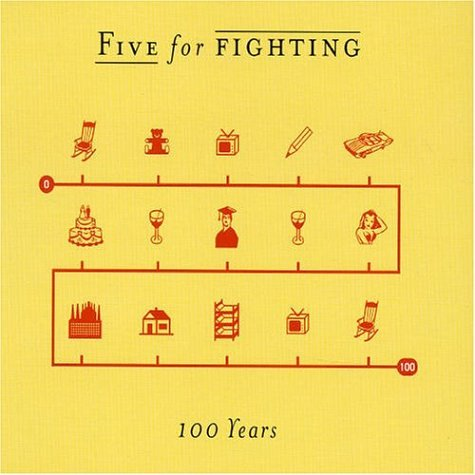 """Five For Fighting - """"100 Years"""" (Single)"""