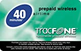 TracFone Prepaid Airtime Card, 40 Units for TracFone Phones
