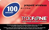 TracFone Prepaid Airtime Card, 100 Units for TracFone Phones