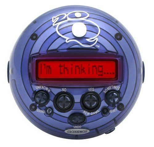 20 Questions Handheld Game
