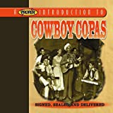 Cubierta del álbum de A Proper Introduction to Cowboy Copas: Signed, Sealed and Delivered