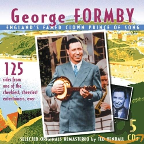 Original album cover of England's Famed Clown Prince of Song by George Formby