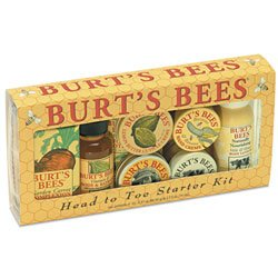 Burt's Bees Head To Toe Starter Kit :  beauty cosmetics toiletries
