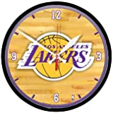 The Los Angeles Lakers NBA Basketball Large 12 Inch Wall Clock by