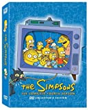 The Simpsons - The Complete Fourth Season - movie DVD cover picture