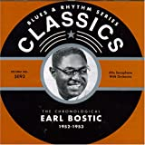 EARL BOSTIC Blues & Rhythm Series: The Chronological Earl Bostic 1952-1953 album cover
