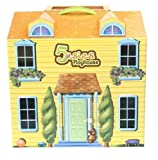 5-Sies Quintuplets Playhouse - Two-Story Doll House Playset