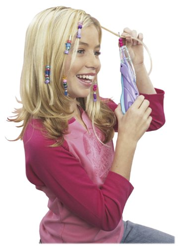 Girl Crush - Hair Beader Activity Kit with 100 Beads and 20 Fasteners