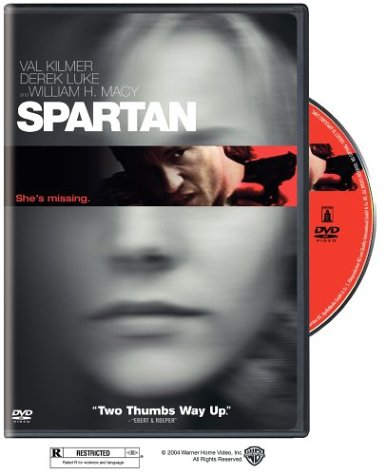Cover of Spartan DVD