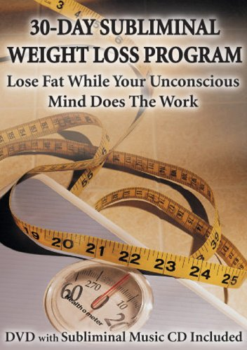30-Day Subliminal Weight Loss Program: Lose Fat While Your Unconscious Mind Does The Work (DVD & CD) My Fitness Commit